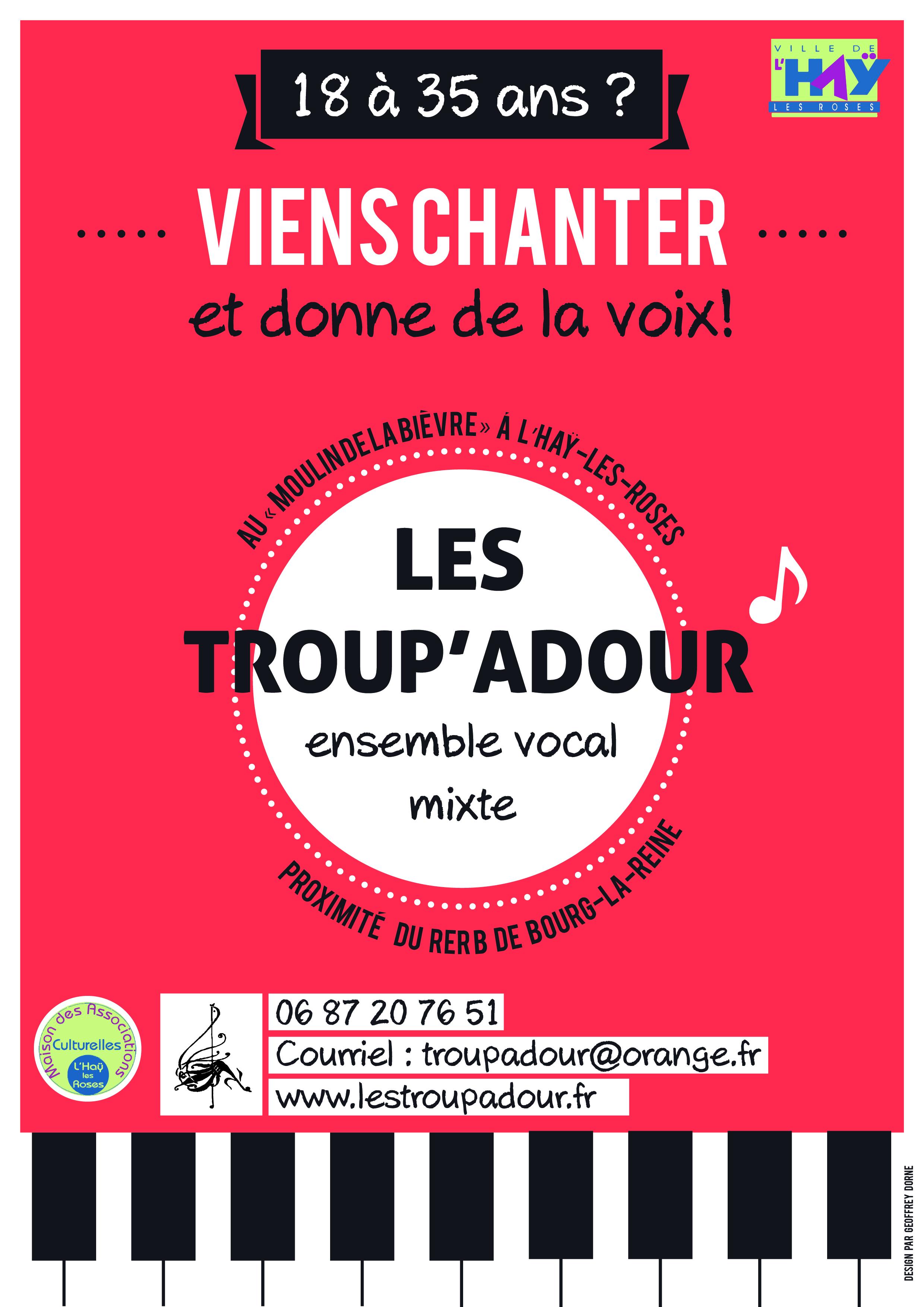 Affiche Troup'Adour